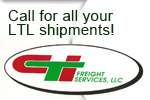 Call for your LTL Shipments!